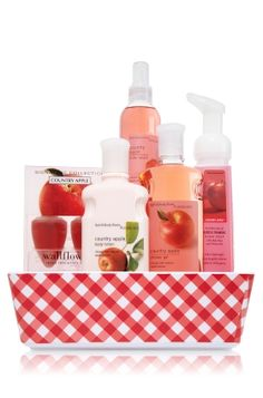 Bath and Body Works CLASSICS Country Apple Fragrance Tray