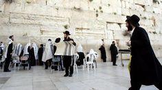 Gemeng bidden bij de klaagmuur
