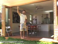 Passive solar remodel of small Melbourne laneway home (+ rainwater capture) - YouTube