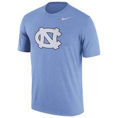 Nike Men's North Carolina Tar Heels Carolina Blue Logo Dry Legend T-Shirt, Size: Large, Team Carolina Blue, North Carolina, Dri Fit T Shirts, Tar Heels, Tshirts Online, Nike Tops, Nike Men, Tees, Mens Tops