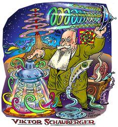 Viktor Schauberger naturalist, philosopher, inventor and Biomimicry experimenter.