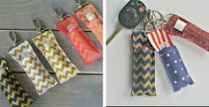 Our Chapstick keychains and Key Fobs are in stock