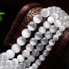 Cheap beaded outfits, Buy Quality beads italy directly from China stone guardian Suppliers:  If you want other color, please find below! :)       4/6/8/10/12MM Natural Stone White Cat's Eye Stone Loose Bead