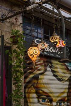 Jerusalem - Mahane Yehuda Market Road Trip, Coffee Shop, Destinations, Adventure, Deco, Halloween, Travel, Old Town, Coffee Shops