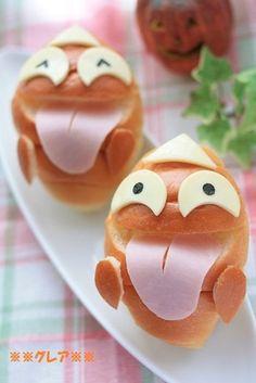 ハロウィン★おばけサンドイッチ
