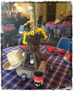 vintage western party ideas - Google Search