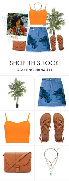 """""""What will happen??"""" by sinddie ❤ liked on Polyvore featuring Nearly Natural, House of Holland, WearAll, Billabong, Forever 21 and Betsey Johnson"""