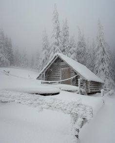 Snow day hideaway, looks so cozy