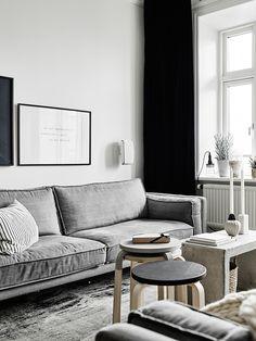 本日ご紹介する、素敵なインテリアのスウェーデンのアパートメント。 不動産屋さん(Stadshem)が売るために インテリアもスタイリングしたというものなんですが、 そのレベルの高さといったら ∑(゚Д゚) まずは、ご覧ください!