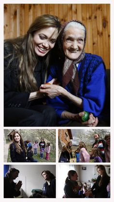 Angelina as UNHCR Goodwill Ambassador in a mission to Bosnia and Herzegovina in April 2010 http://www.unhcr.org/4bbb422512.html