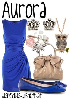 aurora`s blue dress