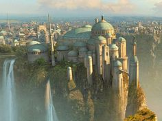 Naboo {Oh my, this is really beautiful...reminds me of something in LotR!}