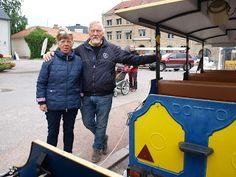Gunnar . Eugen . Foton :: Guide till vänster o lokförare till höger.. Vadste...