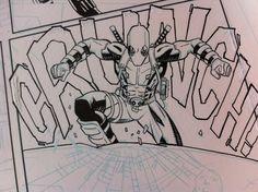 Scene from Deadpool