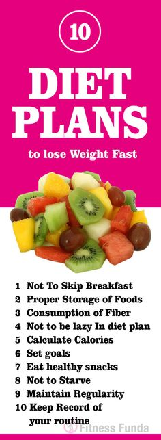 Are you familiar with diet plans to lose weight fast?  #diet