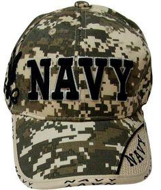 8ed8c04a888 3DMilitaryWear 10077 US Navy Baseball Cap