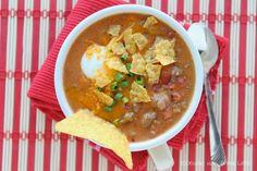 Dessert Now, Dinner Later!: Beefy Nacho Soup