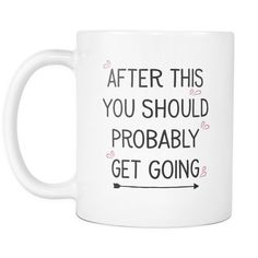 This is a very funny coffee mug for your friends that are single, dating, swiping right and the ones that love to go out. It perfectly describes the thoughts of two people the day after a date.  https://www.amazon.com/dp/B06ZY41P9W