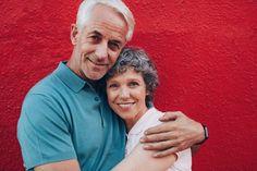 couple de plus de 50 ans amoureux