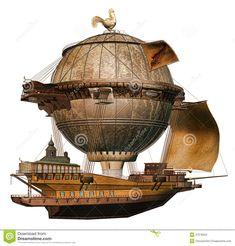 nave fantastica ilustrada - Buscar con Google