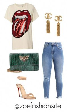 a554f3e5bf3a Untitled  587 by zoefashionsite ❤ liked on Polyvore featuring Gucci