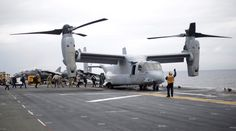 Australia sends navy ships, divers after aircraft crash, three U.S. Marines missing 8-4-17