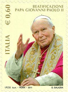 2011 - Beatificazione di papa Giovanni Paolo II - - Ritratto di papa Giovanni Paolo II