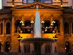 Opera House, Frankfurt, Germany. PICT0128LR Edit, via Flickr.