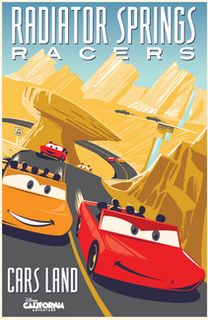 Pixar Post: New Cars Land Concept Art