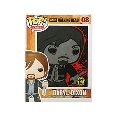 Funko T-Shirt Daryl Dixon, The Walking Dead, AMC, TWD, Hot Topic Exclusive, Camiseta, Séries