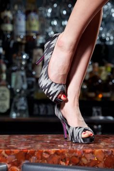 glitter houndstooth shoes |  siegel thurston photography