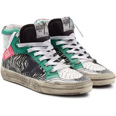 Golden Goose 2.12 Leather Sneakers