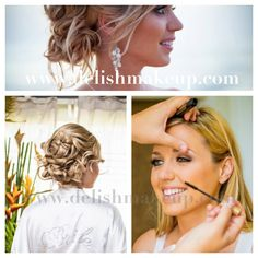 One of my fave beach wedding hair styles - soft and sexy Hawaii Makeup, Beach Wedding Hair, Wedding Hairstyles, Hair Beauty, Dreadlocks, Stylists, Hair Styles, Sexy, Artist