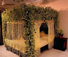 Decoration Of Bedroom for Wedding Games . 35 Fresh Decoration Of Bedroom for Wedding Games . Wedding Bedroom Decoration with Flowers and Candles 2017 Bridal Room Decor, Wedding Night Room Decorations, Romantic Room Decoration, Flower Room Decor, Desi Wedding Decor, Luxury Wedding Decor, Wedding Stage, House Decorations, Romantic Bedroom Lighting