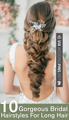 Like this! - wedding hairstyles for long hair Country Western Wedding Dresses   Wedding hairstyles for long hair   CHECK OUT SOME AWESOME PICS OF GREAT wedding hairstyles for long hair AT WEDDINGPINS.NET   #weddinghairstylesforlonghair #weddinghairstyles #weddinghair #hairstyles #hair #boda #weddings #weddinginvitations #vows #tradition #nontraditional #events #forweddings #iloveweddings #romance #beauty #planners #fashion #weddingphotos #weddingpictures