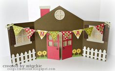 sweet housewarming card by Corgi Creations! http://corgi-creations.blogspot.com