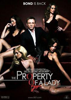 Concept Poster of James Bond Film #JamesBondIsAll