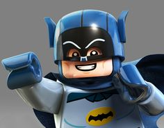Lego Adam West as Batman