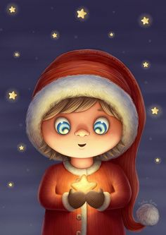 Wish Upon a Star, Caroline Nyman Merry Little Christmas, Christmas Love, Christmas Pictures, All Things Christmas, Vintage Christmas, Diy Christmas Garland, Christmas Scenes, Christmas Music, Christmas Drawing
