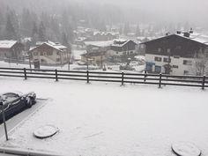 Ecco come si presentava la #primavera oggi in #Trentino a #Campiglio!