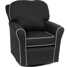 Slipcovers For Glider Rocking Chair Cushions Black Cotton