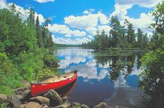 The boundary waters are calling