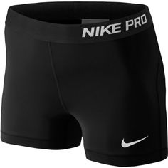"""Nike Pro 3"""" Compression Shorts Women's ($28) ❤ liked on Polyvore featuring activewear, activewear shorts, nike sportswear, nike и nike activewear"""