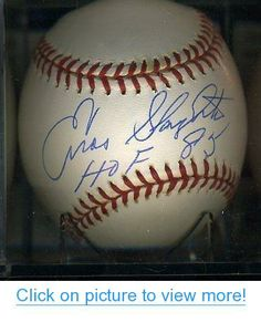 Enos Slaughter Signed Ball - Hof 85 American League Authentic - JSA Certified - Autographed Baseballs