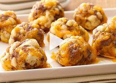 Crescent Cheese balls