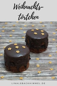 Small Christmas treats – perfect for waiting for Christchild or Christmas … - Weihnachten Mini Desserts, Fall Desserts, Pastry Recipes, Dessert Recipes, Navidad Simple, December, Bowl Cake, Pumpkin Spice Cupcakes, Savoury Cake