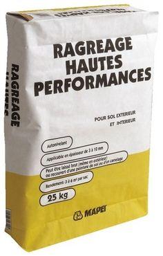 Ciments et Agrégats // Ragréage Hautes Performances 25kg - MAPEI  Autonivelant.