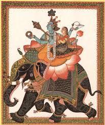 lakshmi mughal art - Google Search