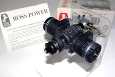 Very Rare 1970 Prototype Ross 60 Flat Twin Reed Valve R/C Glow Model Engine. Very rare Reed valve prototype.