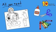wash hands craft ideas